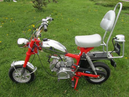 polskajazda motocykle romet romet pony 50. Black Bedroom Furniture Sets. Home Design Ideas