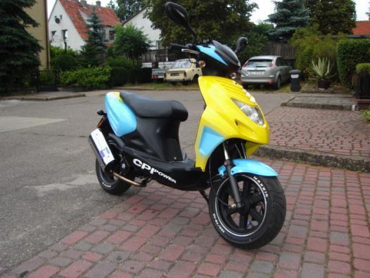 PolskaJazda » Motocykle » CPI » CPI Oliver 50