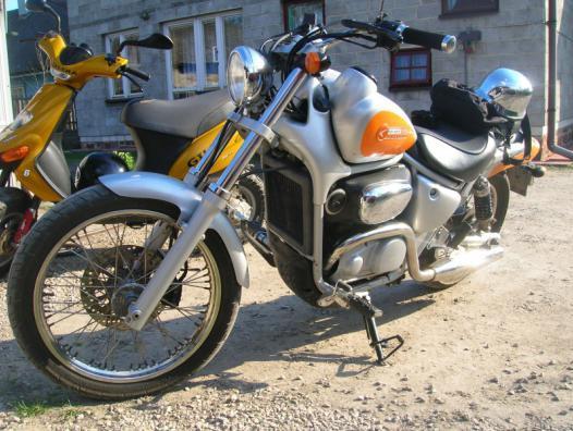 polskajazda motocykle aprilia aprilia classic 125. Black Bedroom Furniture Sets. Home Design Ideas