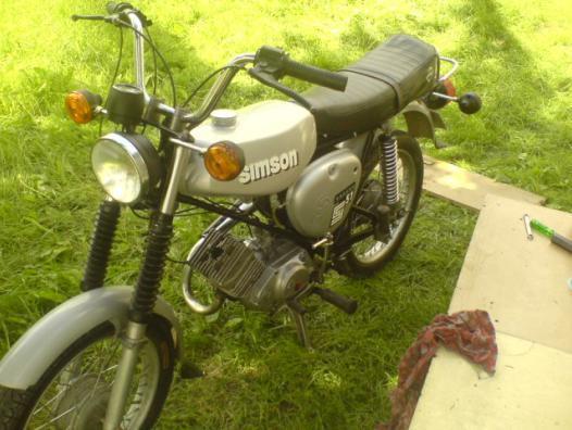 Polskajazda Motocykle Simson Simson S51 Enduro